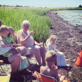 Familie Ved Stranden